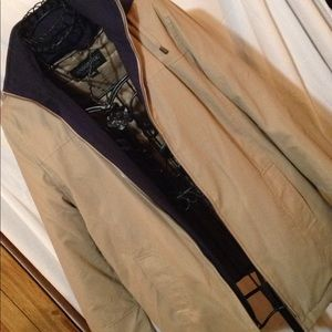 LONDON FOG ALL WEATHER WITH ZIP OUT LINER SIZE MED